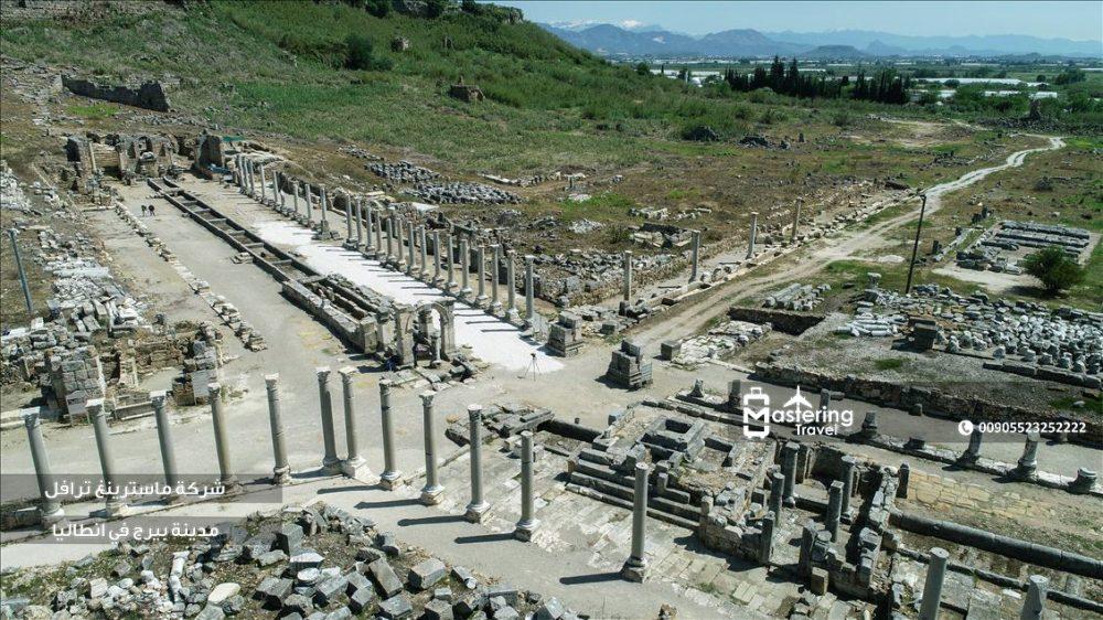 مدينة بيرج القديمة في انطاليا 1
