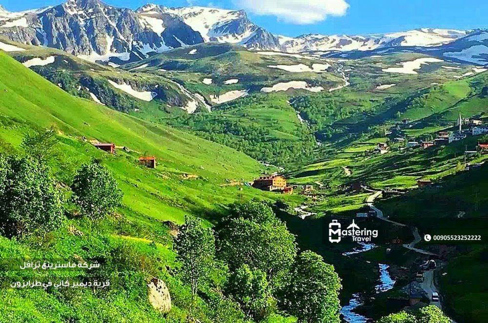 قرية ديمير كابي في طرابزون 1
